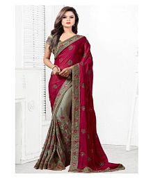 ae3d1c384e4 Red Saree  Buy Red Saree Online in India at low prices - Snapdeal