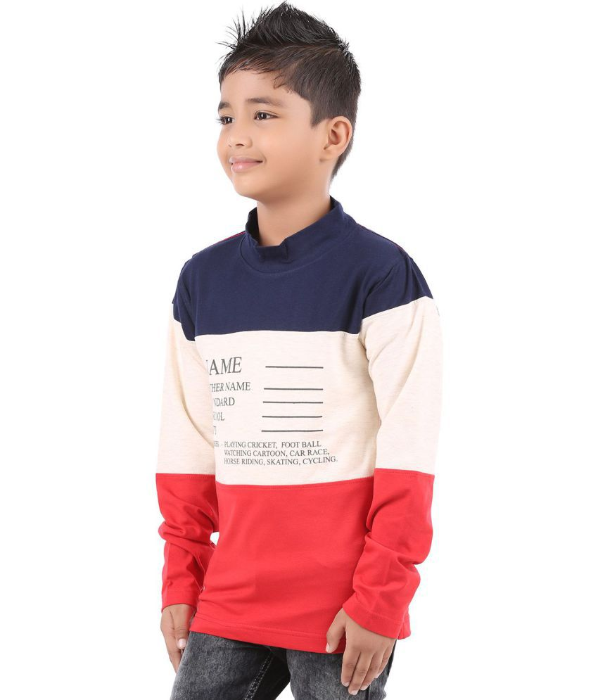 b8cac22d905 BodyGlove Color Block Full Sleeves T-Shirt For Boys - Buy BodyGlove ...