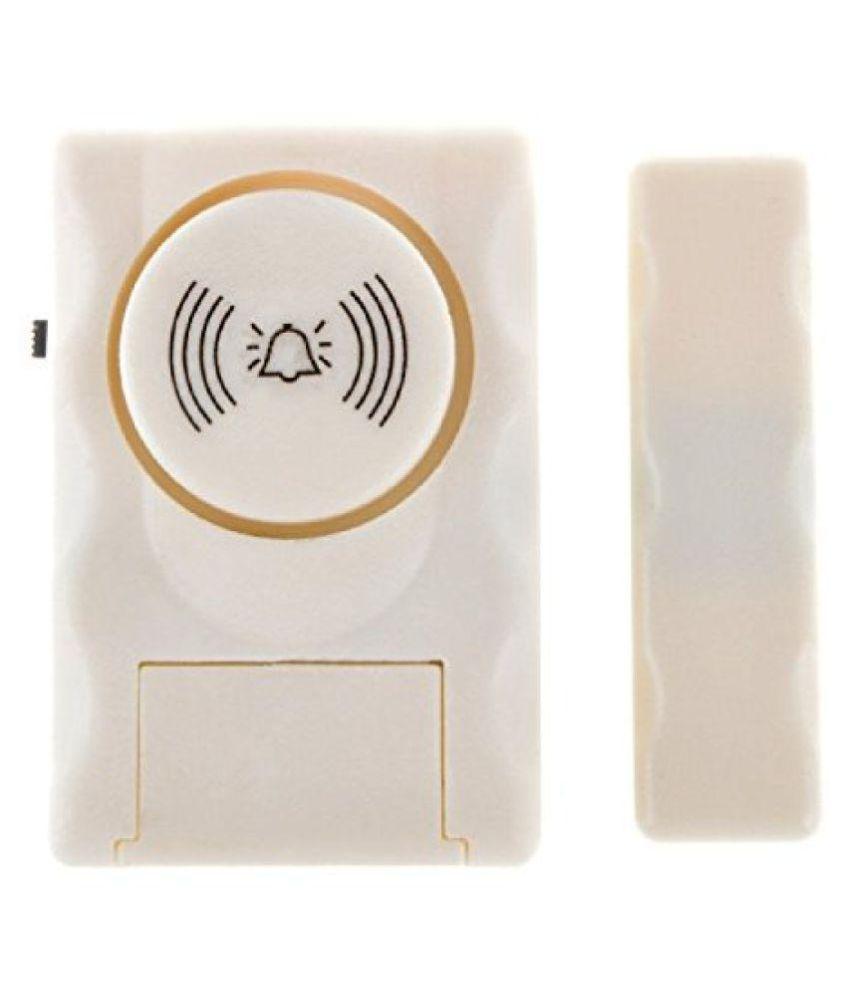 Bolt Wireless Window/Door Entry Alarm (MC06-1) with Magnetic Sensor and Loud Sound Siren
