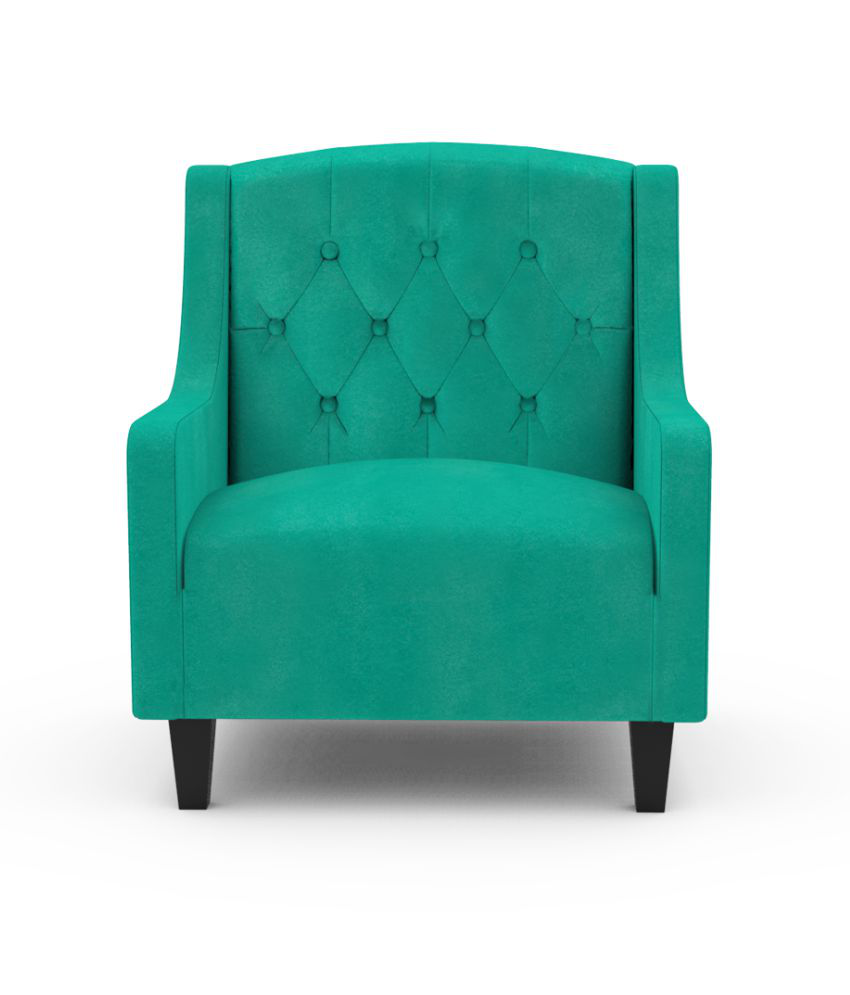 Miraculous Ripple Arm Chair With Ottoman Seafoam Green Buy Ripple Arm Chair With Ottoman Seafoam Green Online At Best Prices In India On Snapdeal Interior Design Ideas Ghosoteloinfo