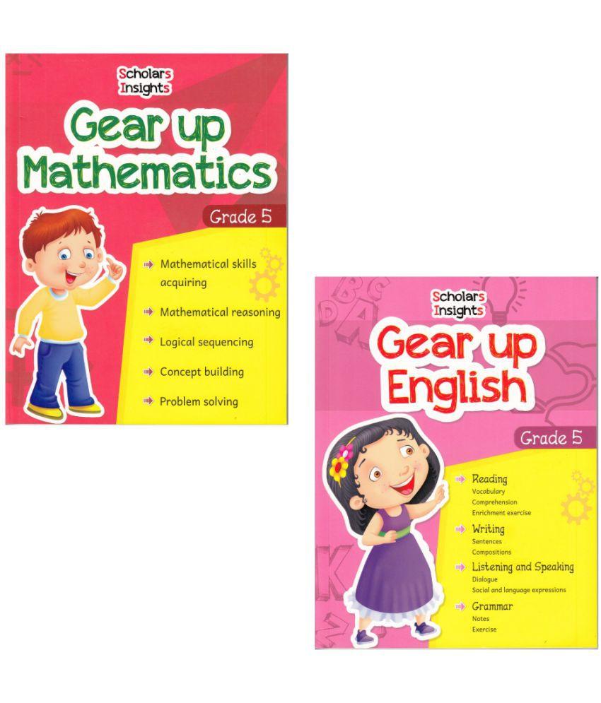 Scholars Insights Gear Up English & Maths Grade 5 (Set of 2)