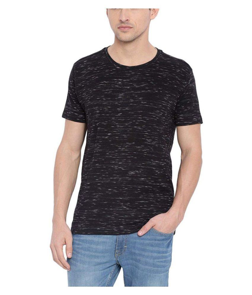 Trove Black Half Sleeve T-Shirt