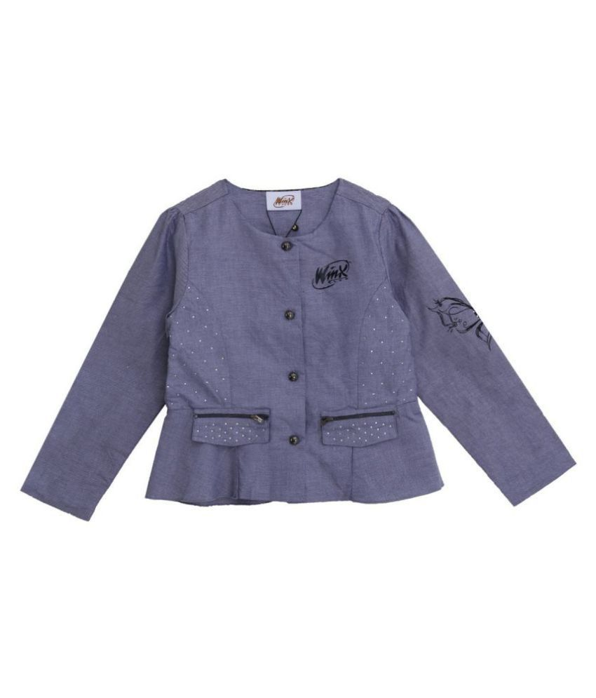 Woven Jacket with Full sleeves