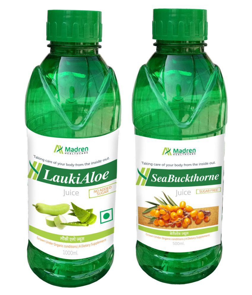 Madren Healthcare Lauki Aloe & Sea Buckthorne  Health Drink 1500 ml
