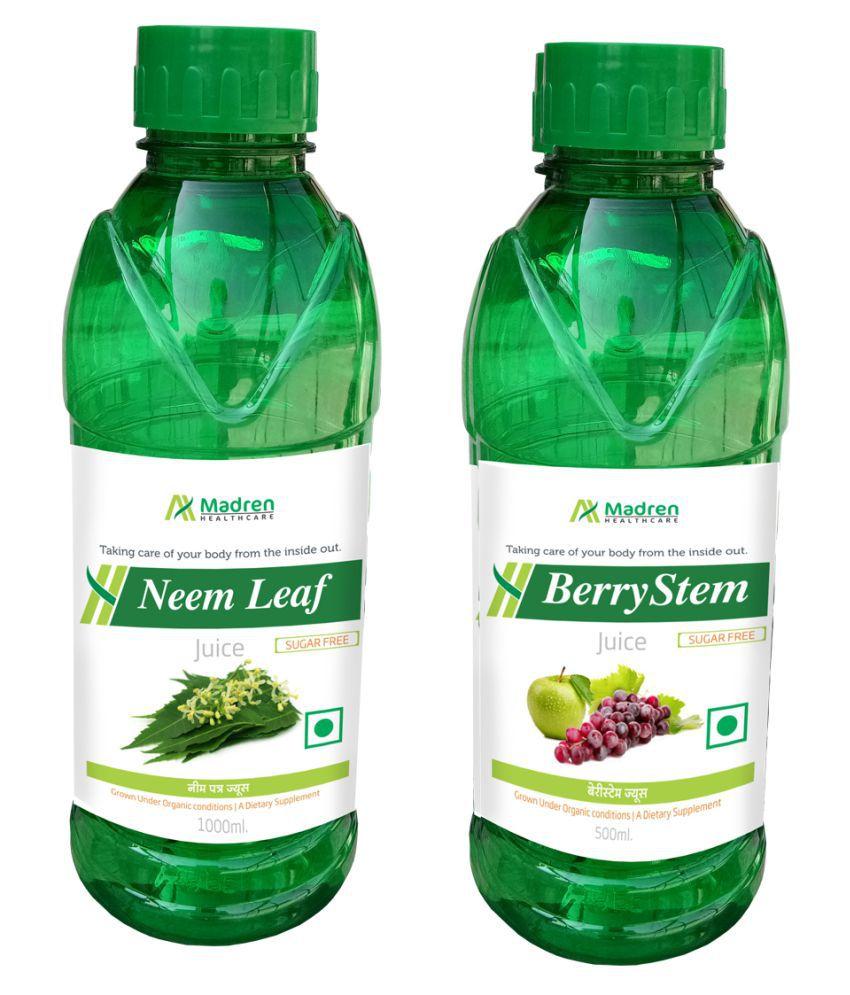 Madren Healthcare Neem & Berry Stem Juice Health Drink 1500 ml