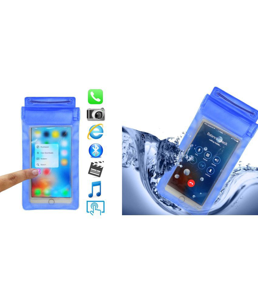 lowest price 96977 c018d Oppo A3s Holster Cover by ACM - Blue Waterproof Bag,Water Proof Bag ...