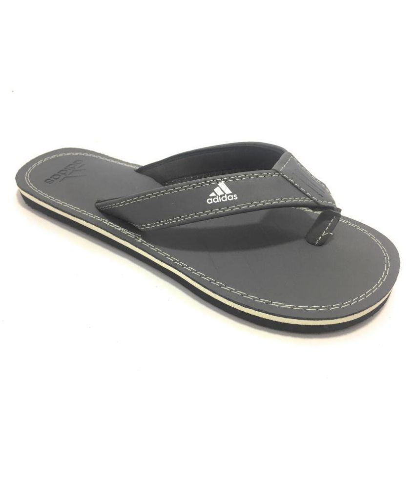 d002d9b49a3 Adidas FSl0036 Gray Thong Flip Flop Price in India- Buy Adidas FSl0036 Gray Thong  Flip Flop Online at Snapdeal