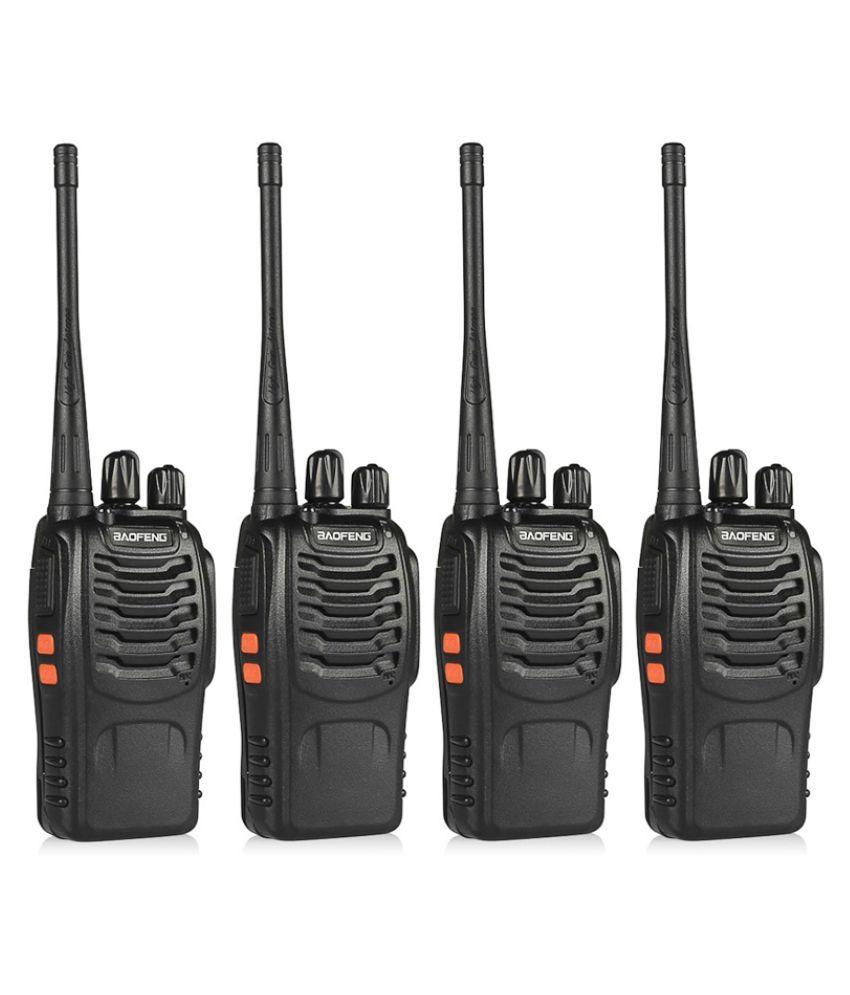 Baofeng Bf-888S 4-Way Radios Walkie-Talkies Long Range Handheld Radios Pack of 4