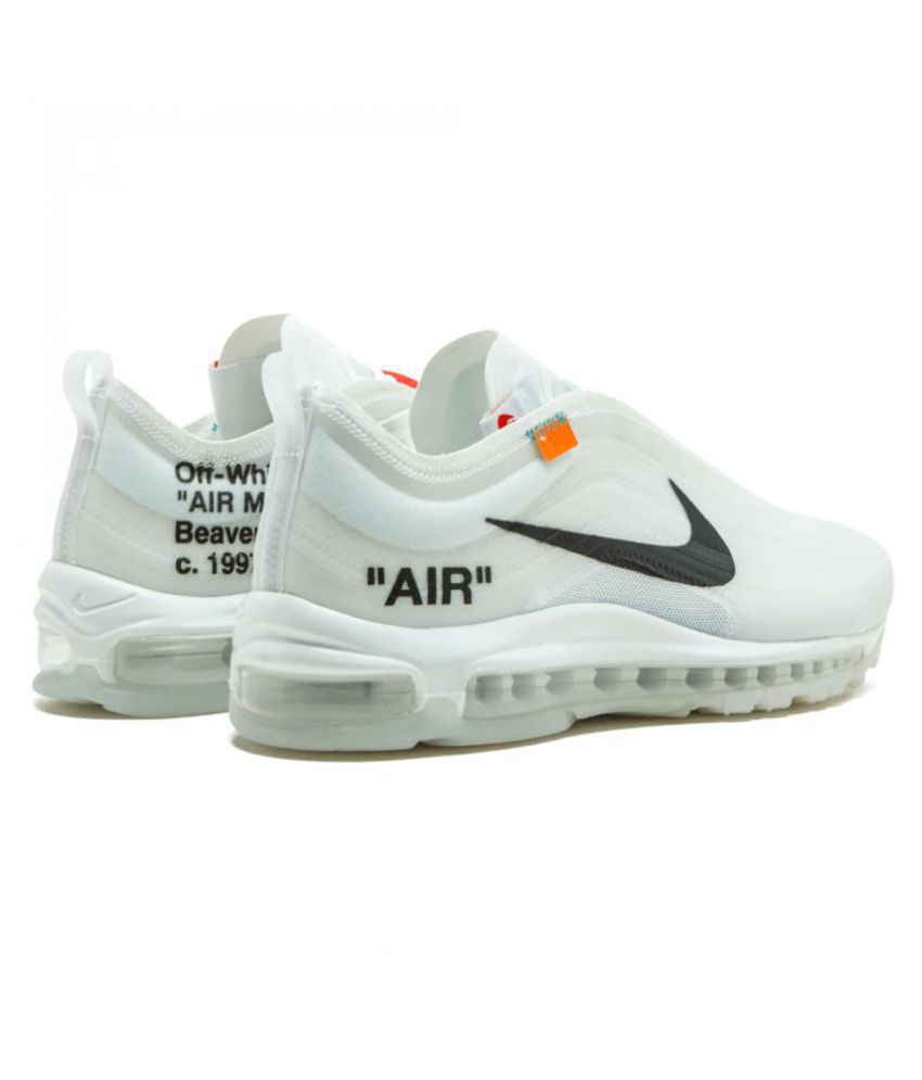 e87ee22a5e10e Nike Air Max 97 Off-White x 2019 LTD White Running Shoes - Buy Nike ...