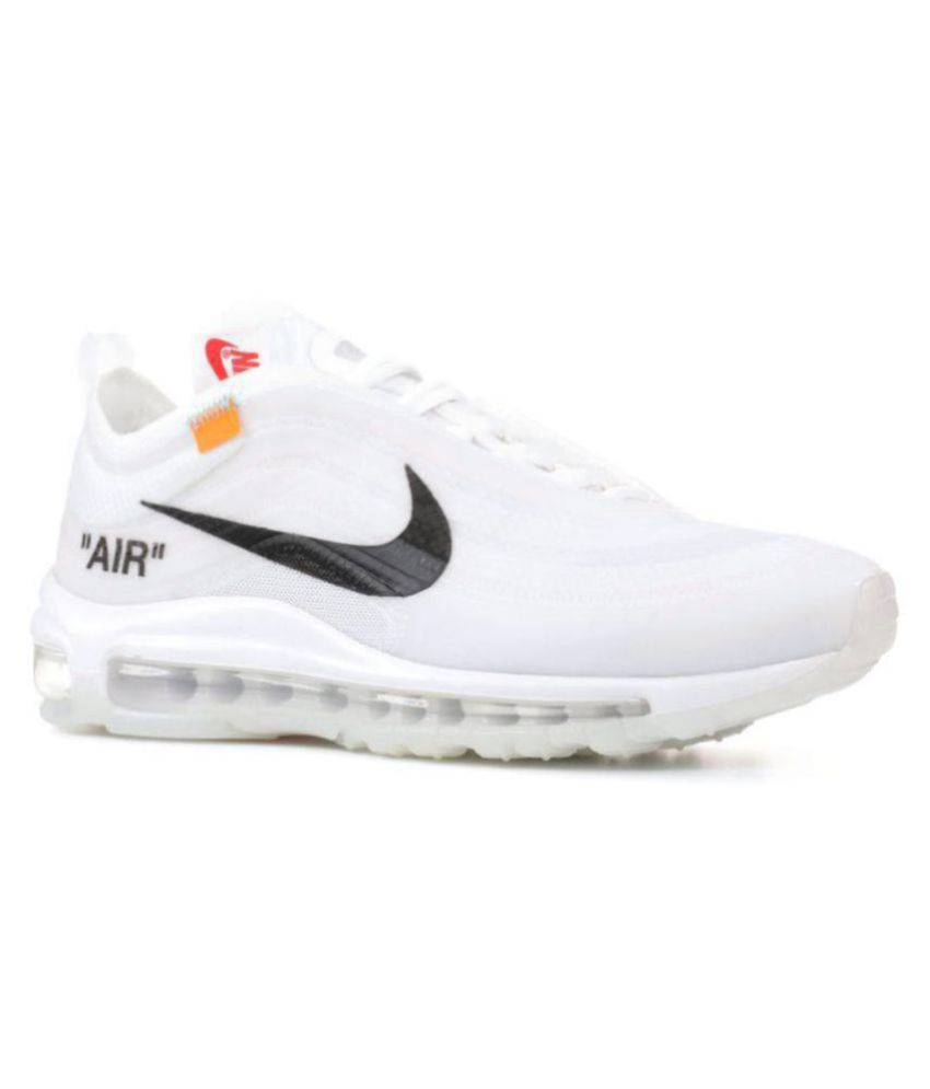 f0a74e9970164 Nike Air Max 97 Off-White x 2019 LTD White Running Shoes - Buy Nike ...