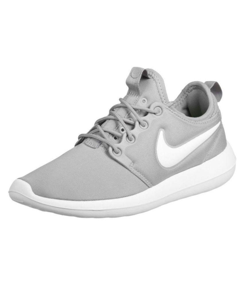 sale retailer ad8b1 bd582 Nike Roshe Two Mesh Grey Running Shoes