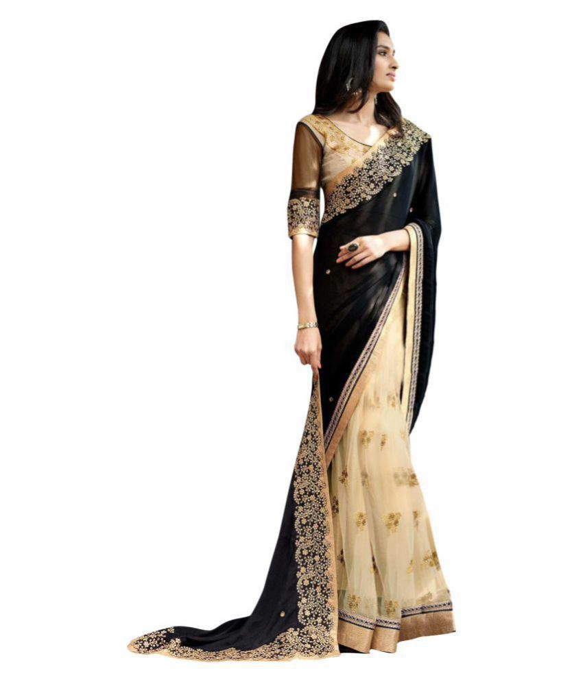 Deep Fashion Multicoloured Georgette Saree