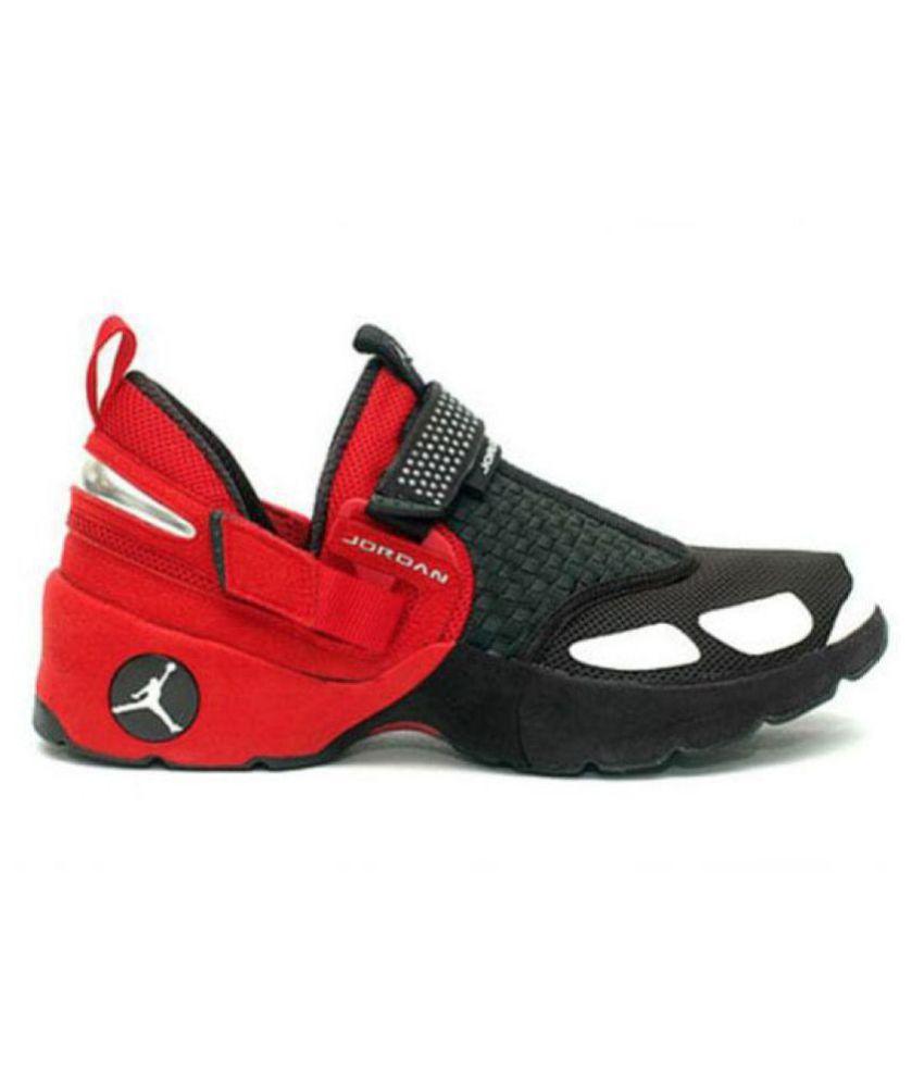 eafcb8766b1160 Jordan Trunner LX Retro Red Black Basketball Shoes - Buy Jordan Trunner LX  Retro Red Black Basketball Shoes Online at Best Prices in India on Snapdeal