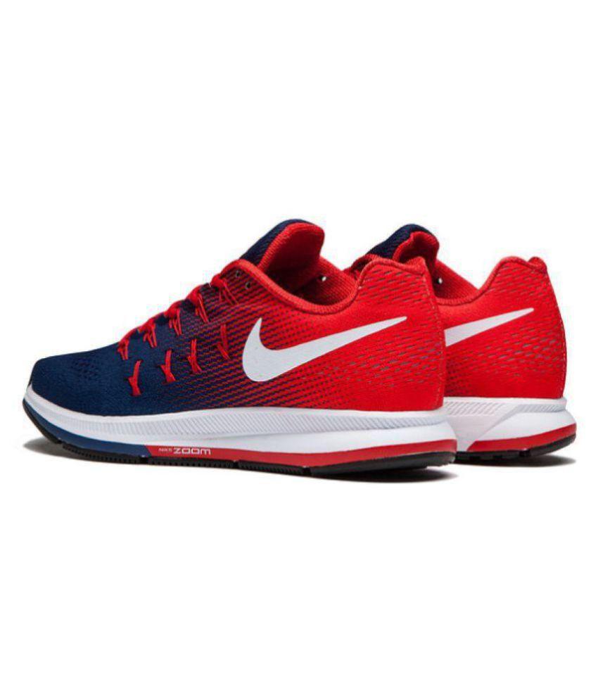 Nike Zoom Pegasus 33 Red Blue Running
