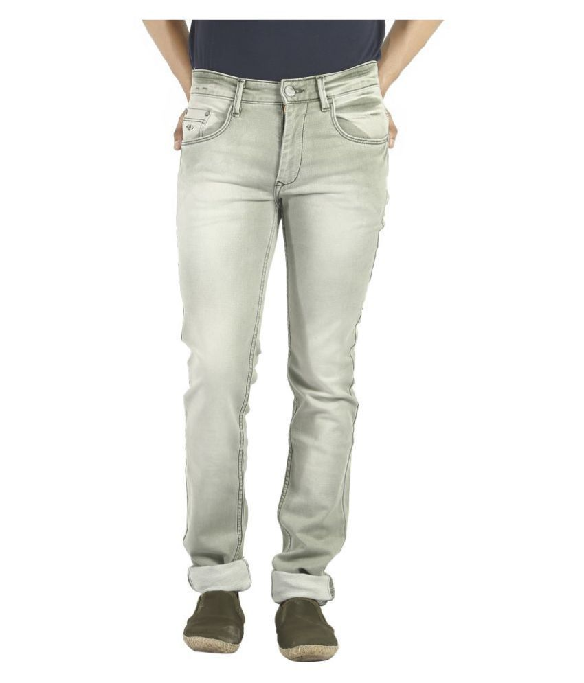 Pecos Bill Green Slim Jeans
