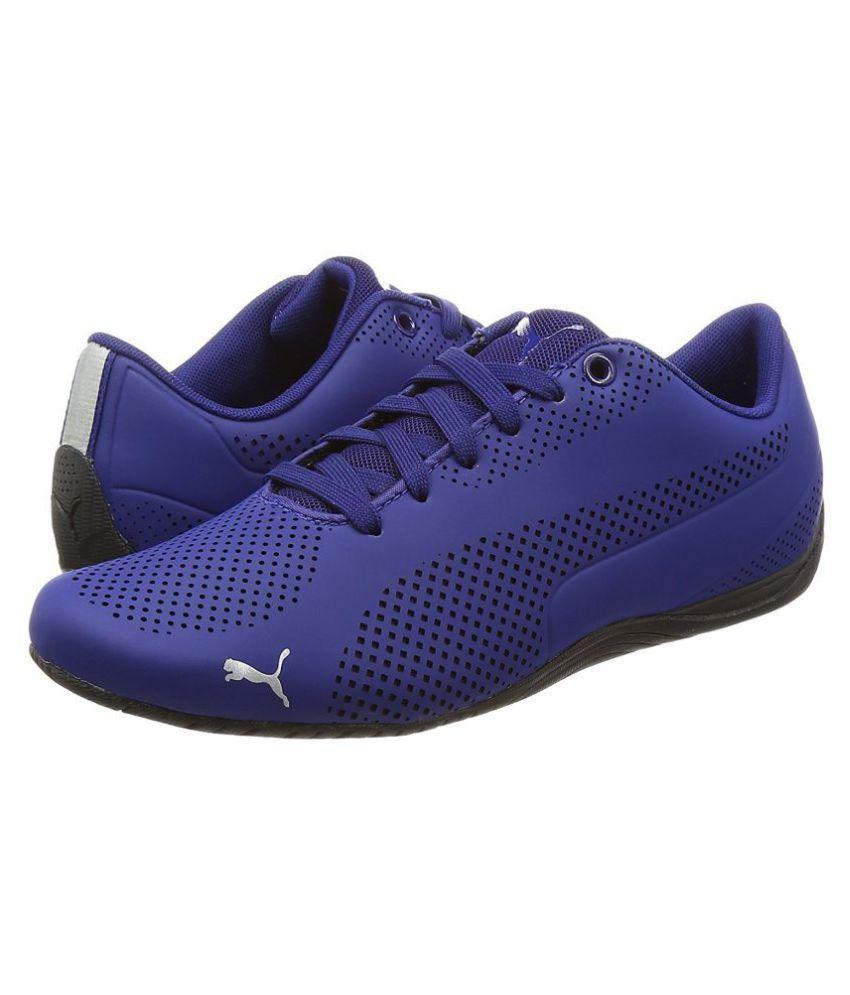 7d360b77b438a2 ... Puma Unisex Drift Cat Ultra Reflective Sneakers Blue Casual Shoes ...