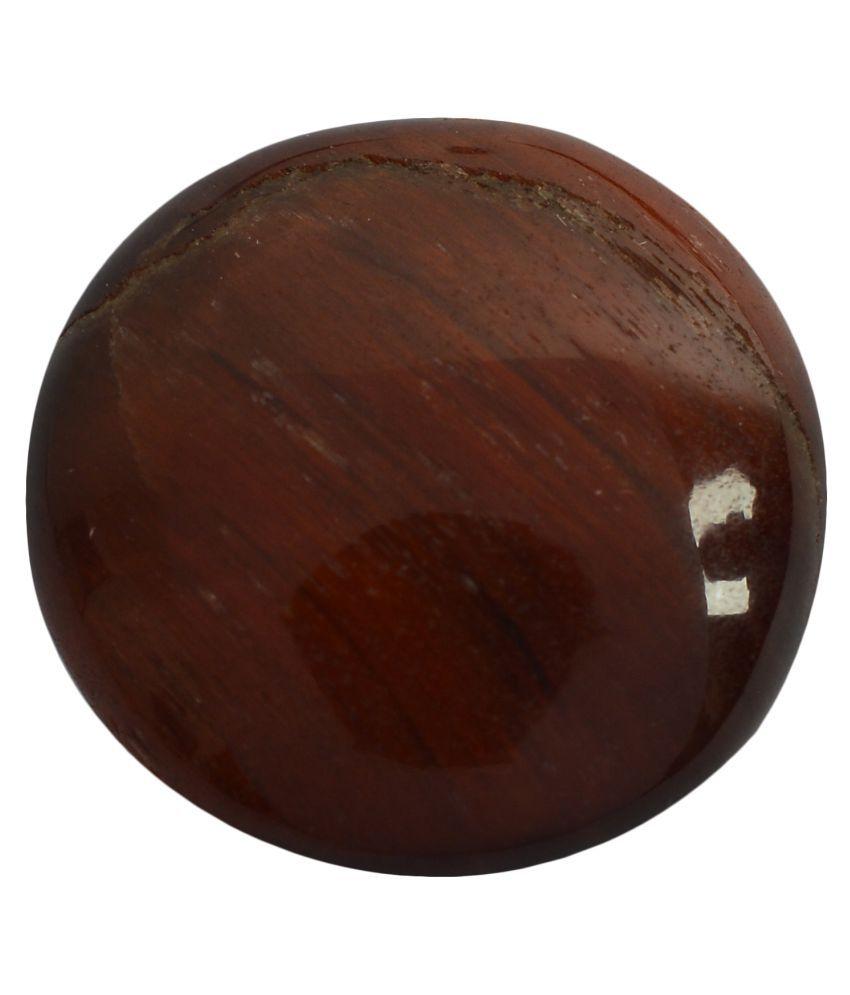 pitliya jewellers 8 -Ratti Self certified Brown Tigereye Semi-precious Gemstone
