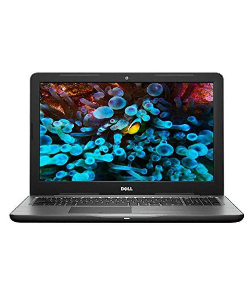 Dell Inspiron 5567 Notebook Core i3 (6th Generation) 4 GB 38.1cm(15) Windows 10 Home without MS Office Not Applicable Black