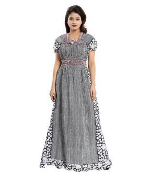 snapdeal. Cinco Cotton Nighty   Night Gowns - Multi Color 977c41147