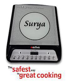 Activa Surya Super Star 2000 Watt Induction Cooktop