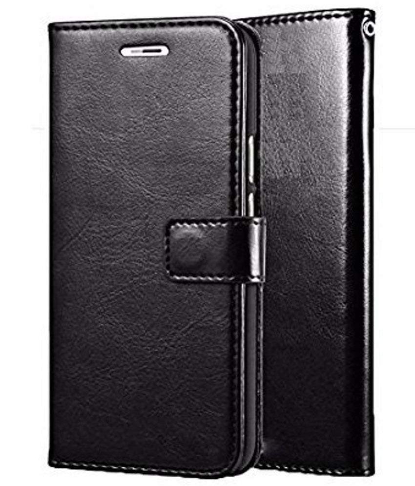 Samsung Galaxy J7 Pro Flip Cover by SESS XUSIVE - Black