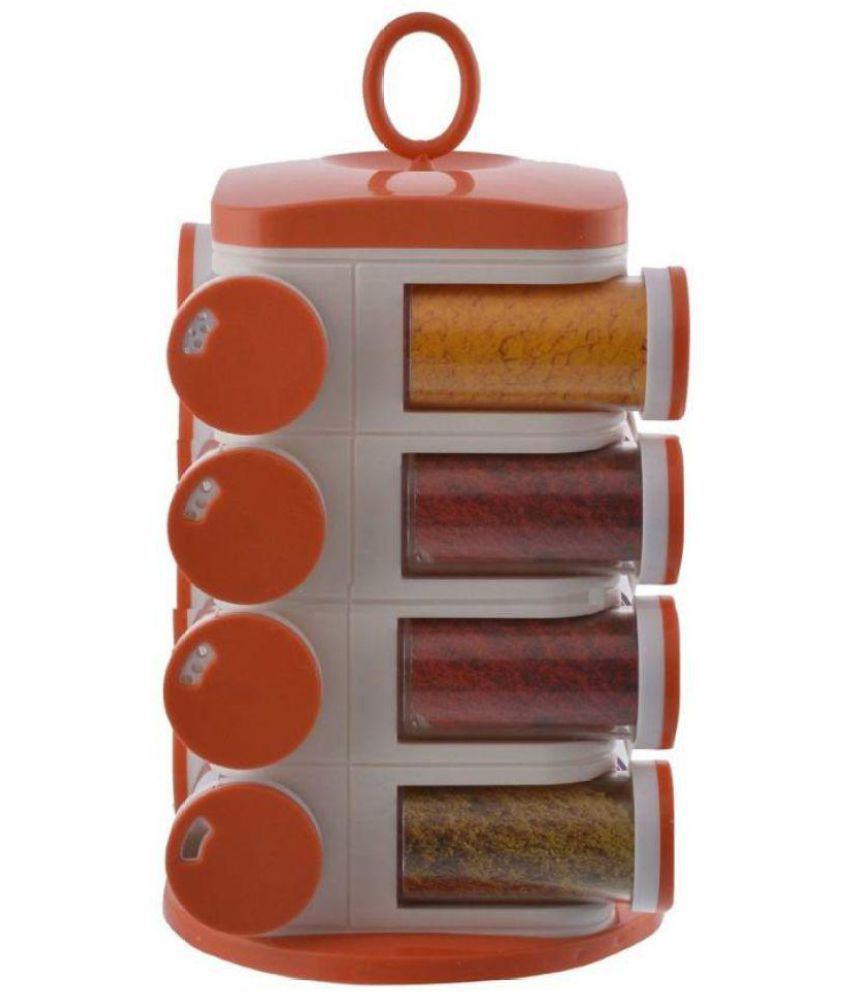 wudkraft Polyproplene Spice Container Set of 11-20