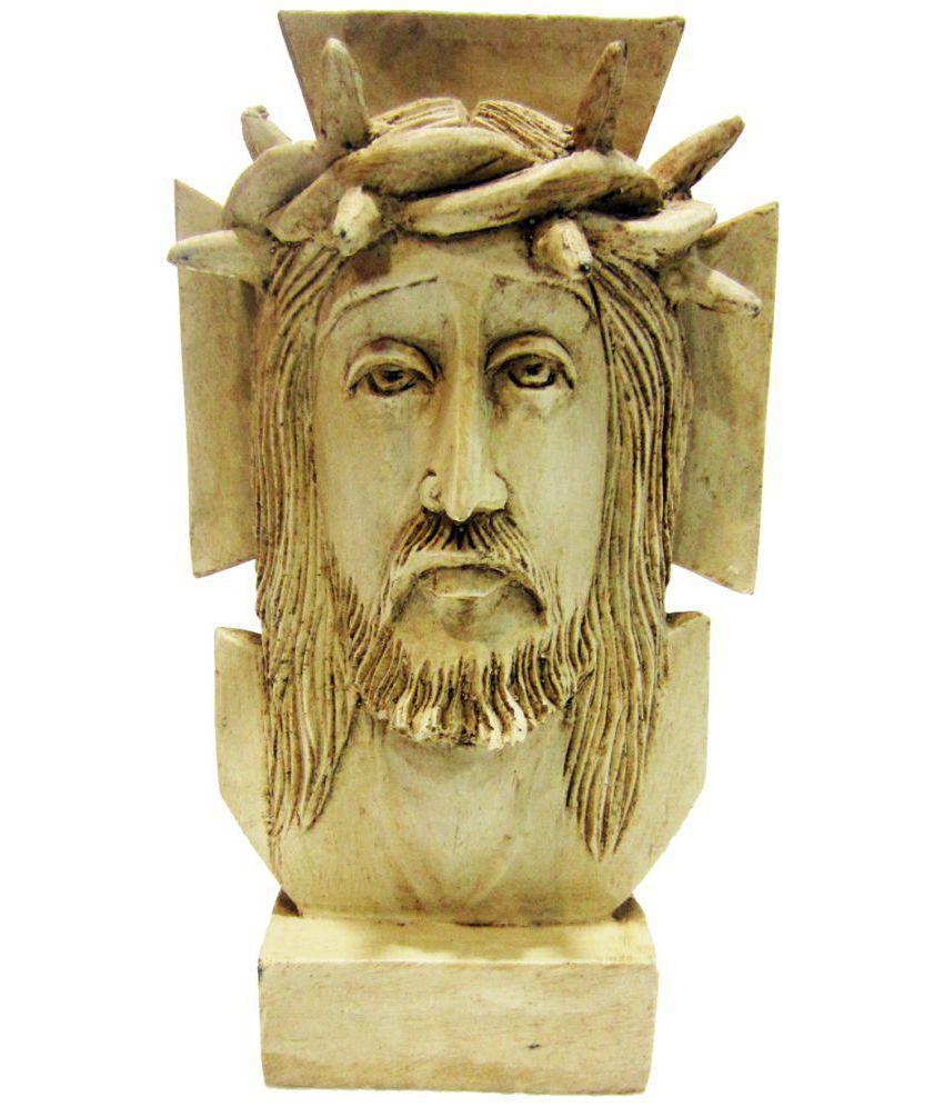 Earth Jesus Polyresin Idol