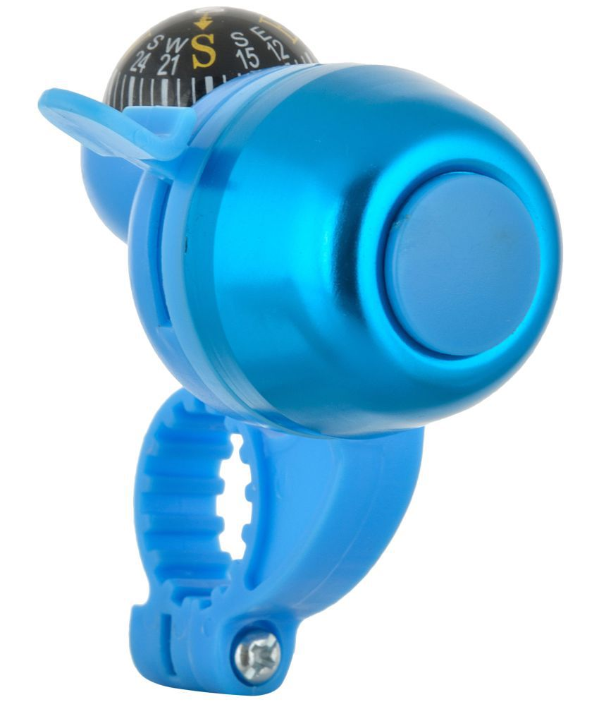 DarkHorse Bicycle Navigation Bell with Compass Blue
