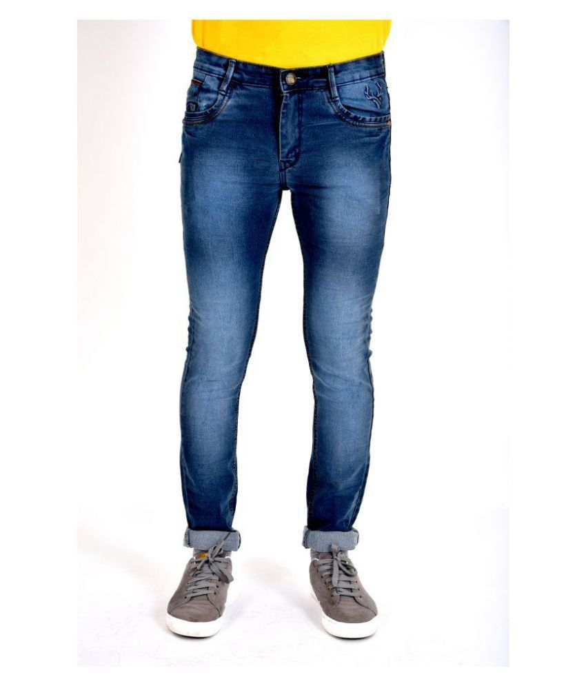POSH EXCLUSIVE FOR MEN Grey Slim Jeans