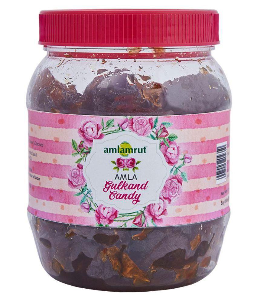 Amlamrut Amla Gulkand Candy Filled Candies 250 gm Pack of 2