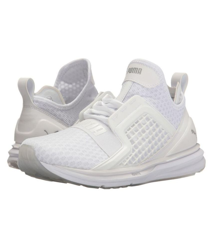 d9a7bb779 Puma Ignite Limitless White Running Shoes - Buy Puma Ignite Limitless White Running  Shoes Online at Best Prices in India on Snapdeal