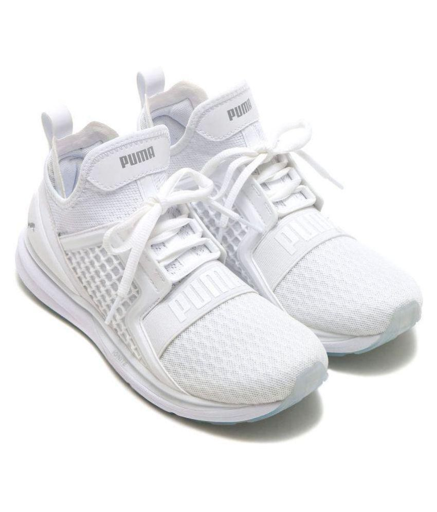 94343b830 Puma Ignite Limitless White Running Shoes Puma Ignite Limitless White Running  Shoes ...
