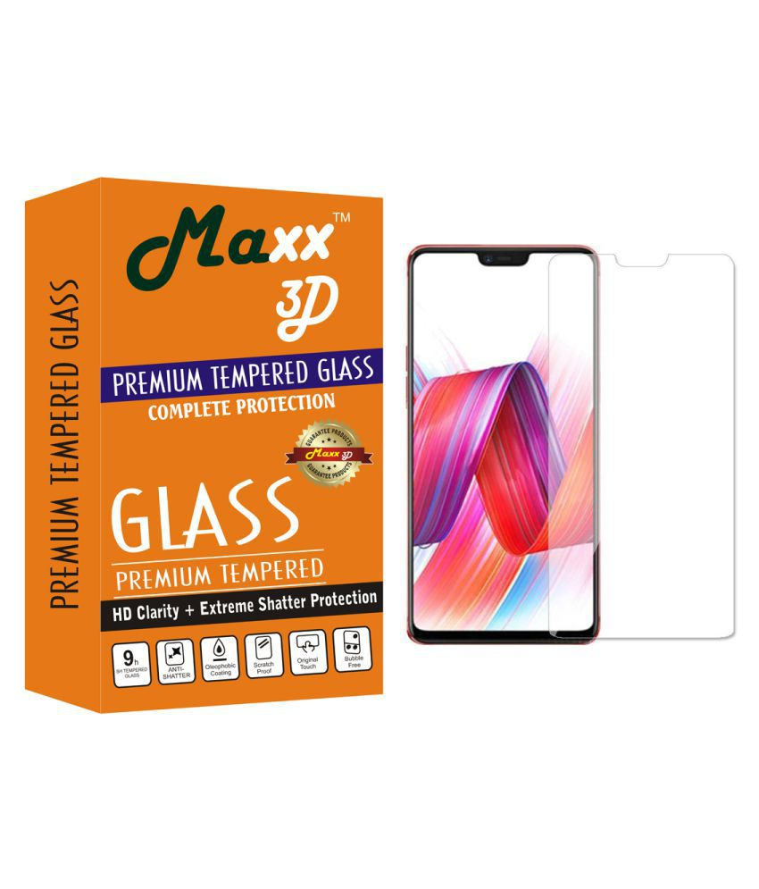 Vivo V9 Tempered Glass Screen Guard By MAXX3D