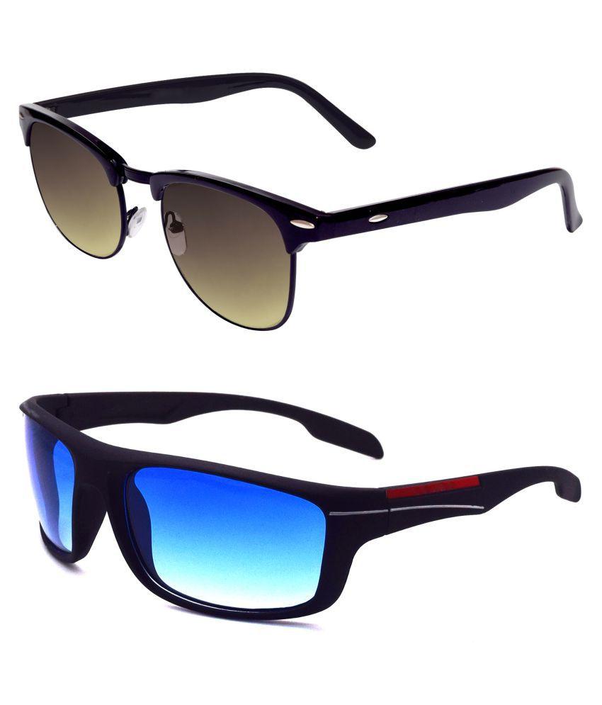 ocnik Multicolor Clubmaster Sunglasses ( 200-408. )
