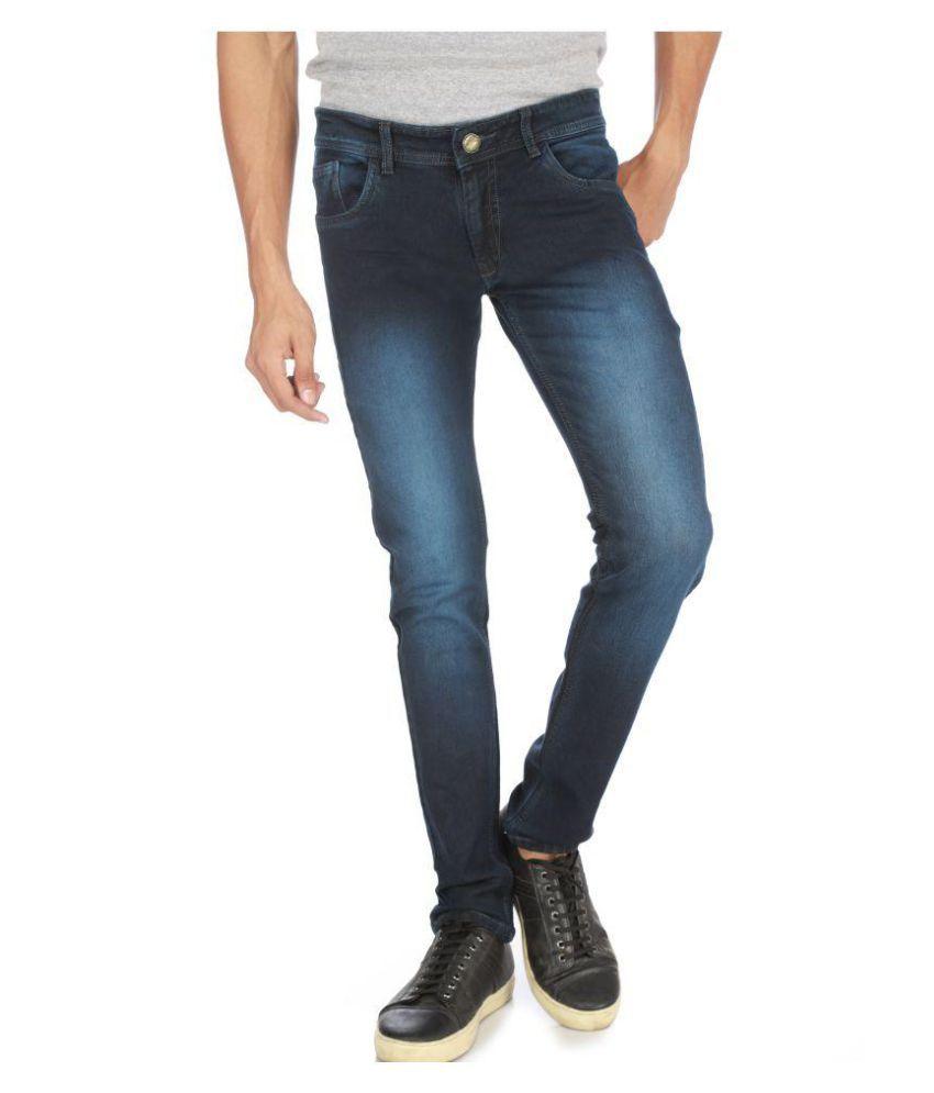 Campus Bunny Blue Slim Jeans