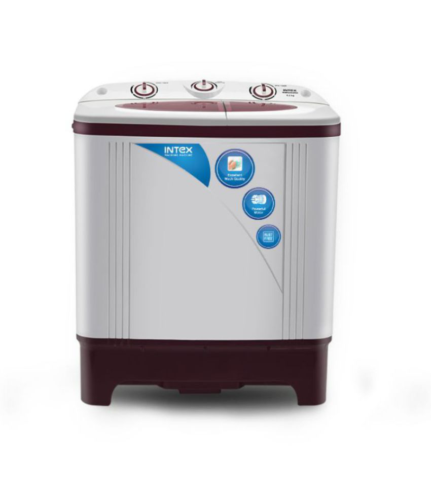 Intex 6.2 Kg wmsa62rd Semi Automatic Semi Automatic Top Load Washing Machine