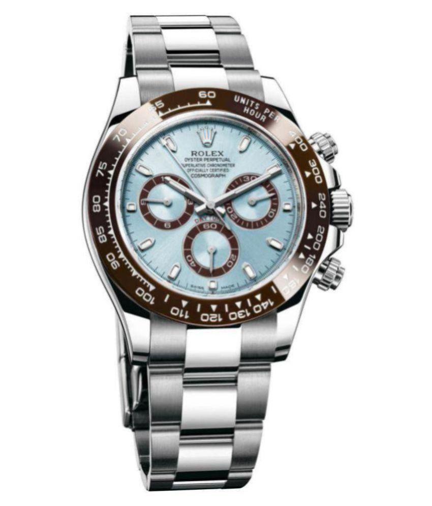 Rolex Watch For Men Rolex 116500 Stainless Steel Analog Men\u0027s Watch
