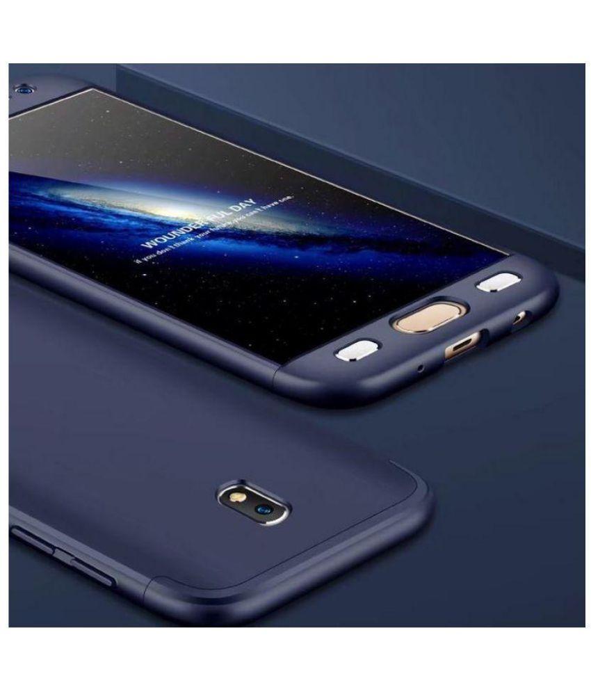Samsung Galaxy J7 Pro Hybrid Covers Bracevor - Blue