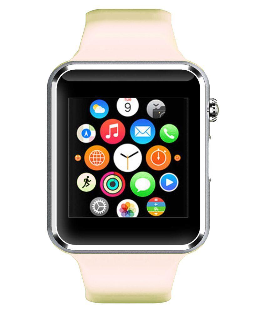 WOKIT Smartwatch Suited Idea !d 1000 A1 White Smart Watches