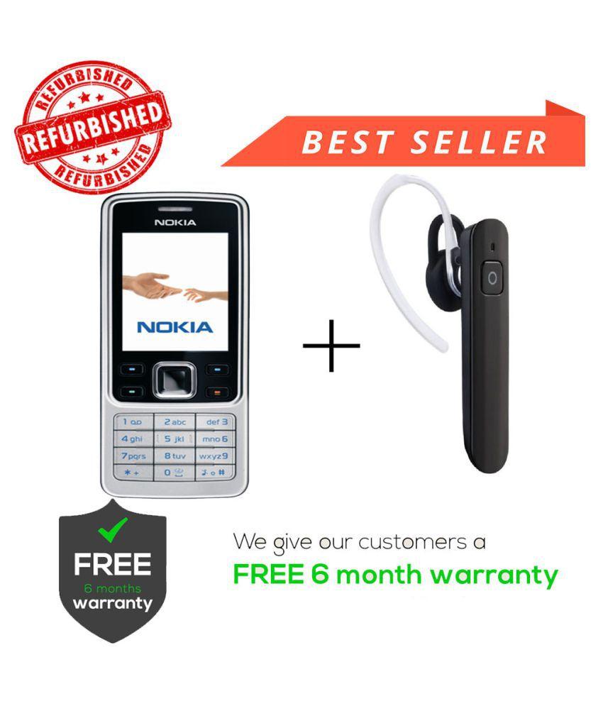 58f5f4eb6 Camolinz Refurbished Nokia 6300 Get Wireless BT Silver - Feature ...
