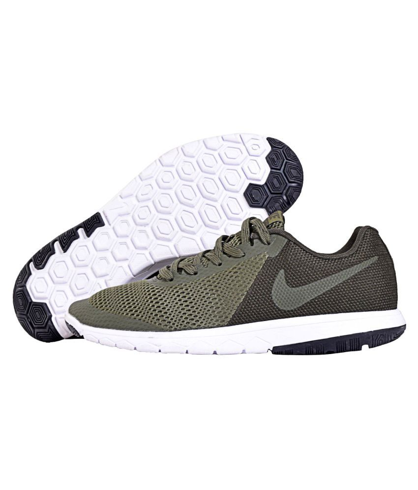 innovative design 28983 1cda4 Nike Flex Experience Rn 5 Green Running Shoes