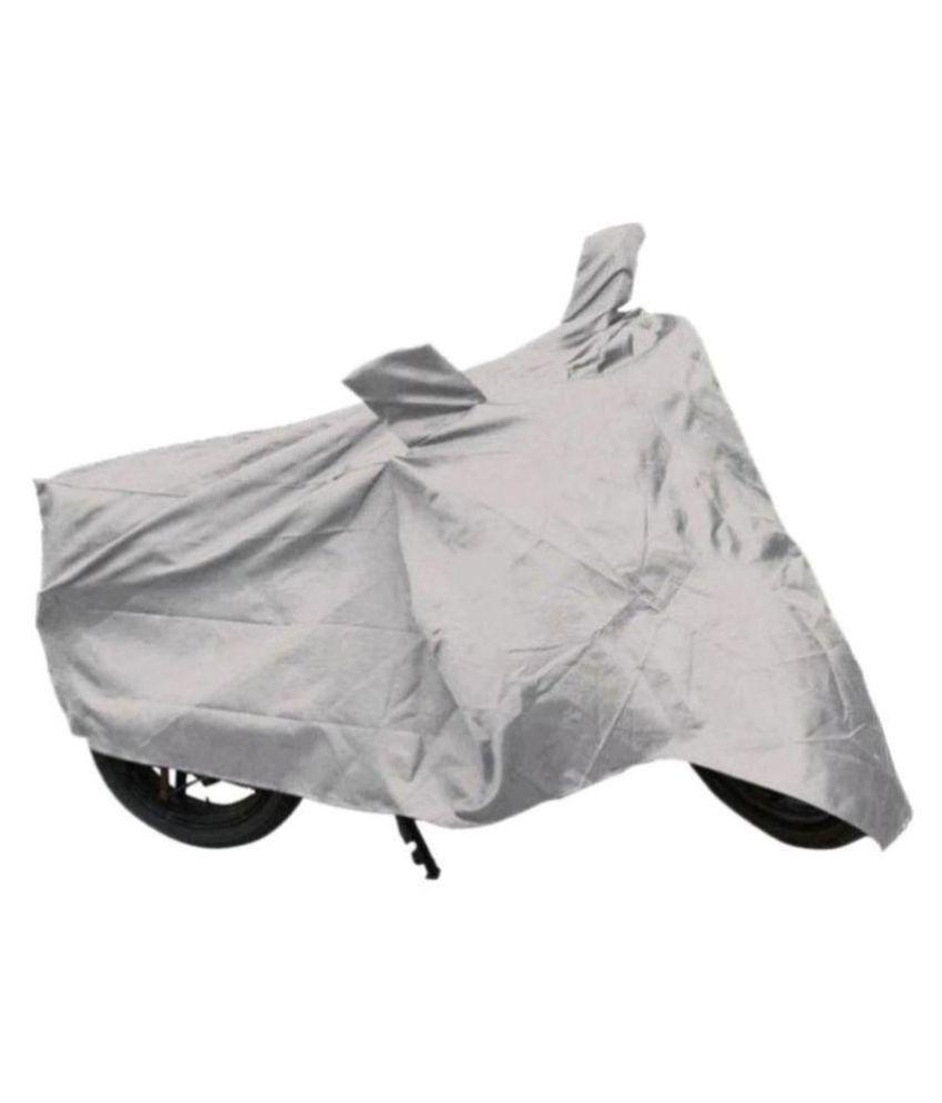 Ek Retail Shop Silver Matty Waterproof Bike Body Cover for Honda CB Hornet 160R ABS DLX