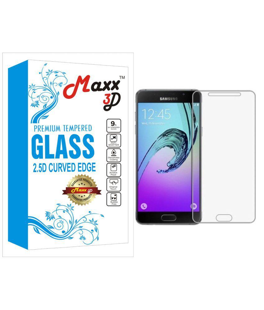 Samsung Galaxy J7 Max Tempered Glass Screen Guard By MAXX3D