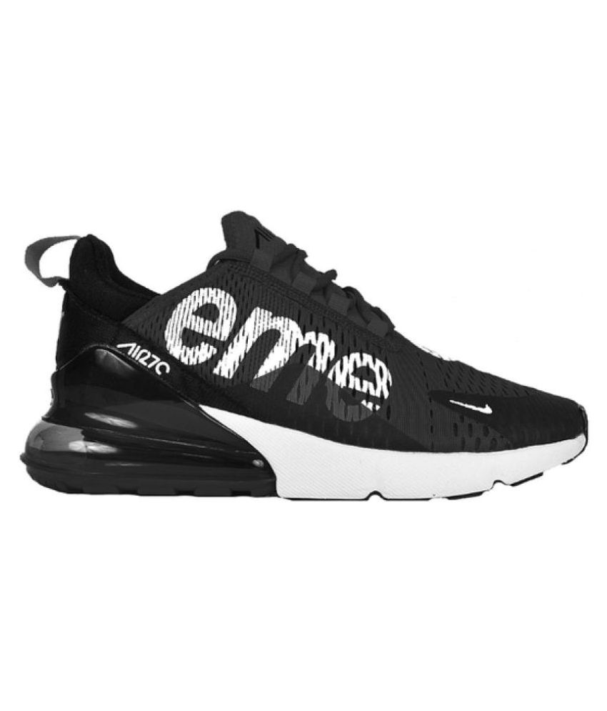 Nike Air Max 270 Supreme Black Running Shoes