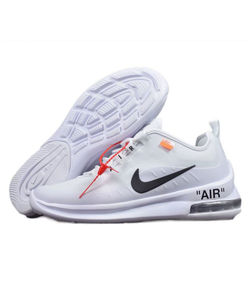 Nike Air Max Axis 2018 OFF WHITE White Running Shoes