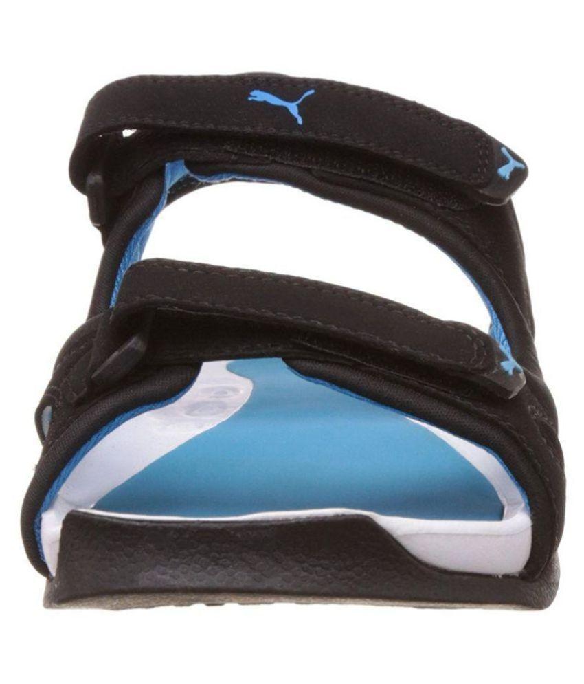 559cbf9e9b6 ... Sandals Puma Men s Jimmy Dp Athletic   Outdoor Black Synthetic Leather  ...