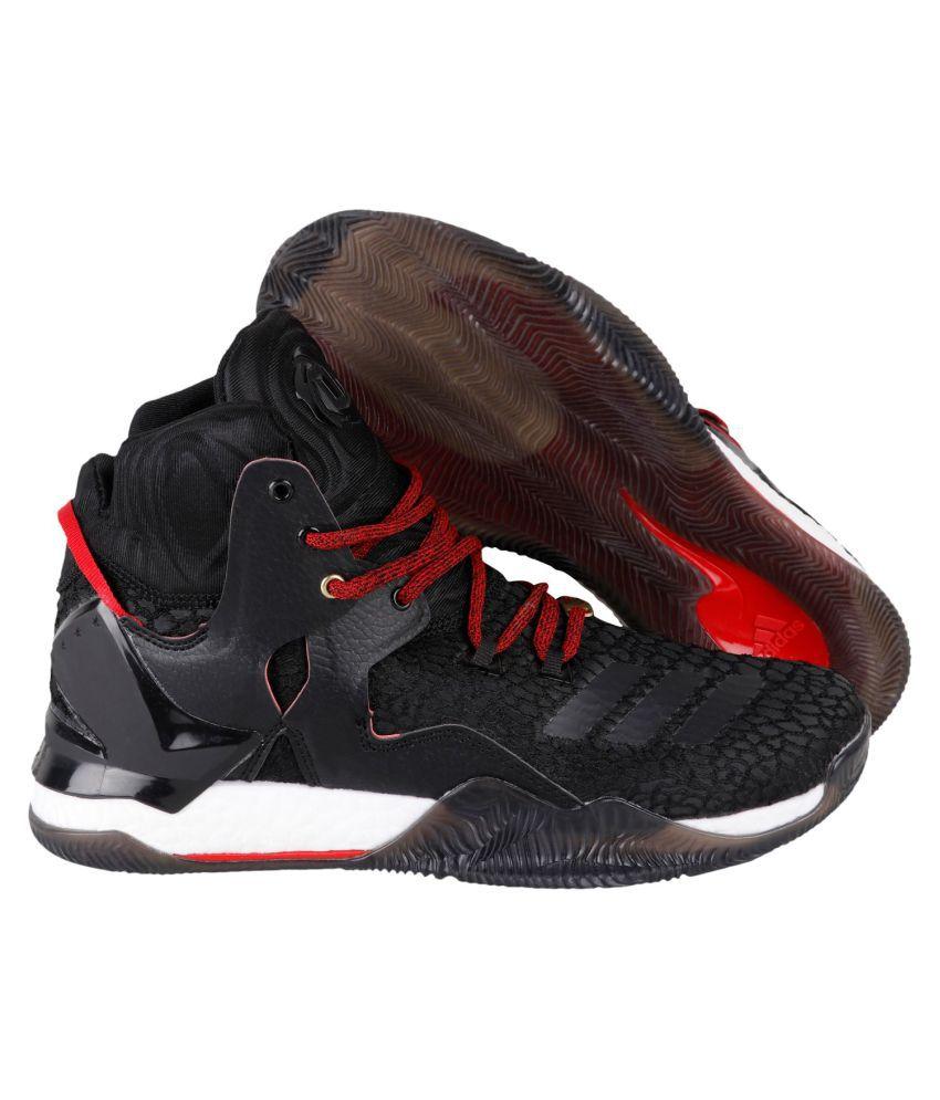 2b94c43a79ff Adidas D ROSE 7 PRIMEKNIT Black Basketball Shoes - Buy Adidas D ROSE ...