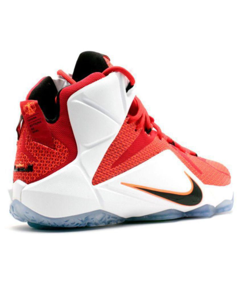 37182bf7a04 Nike Lebron X11 Heart Of A Lion Red Basketball Shoes