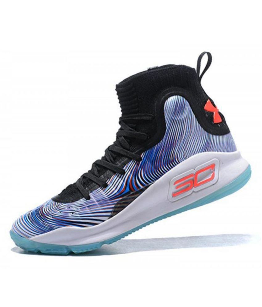 uk availability ae8d0 8e993 Under Armour UA CURRY 4 'MORE MAGIC' Multi Color Basketball Shoes