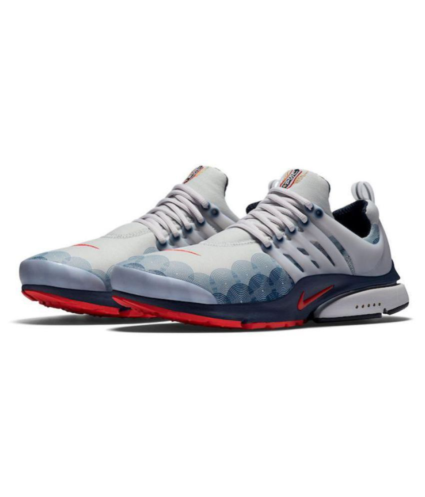 cb97b8c5fadfa Nike Air Presto U.S.A. White Running Shoes - Buy Nike Air Presto ...